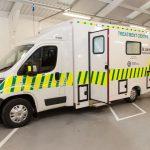 A new ambulance for St. Johns