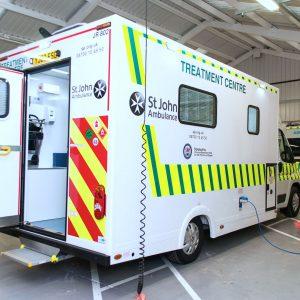 St. John's Ambulance Treatment Centre