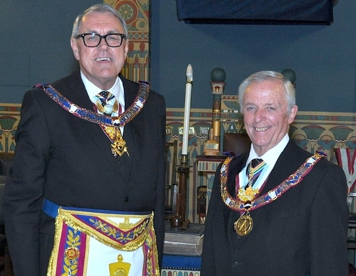 Assistant Grand Master and Provincial Grand Master