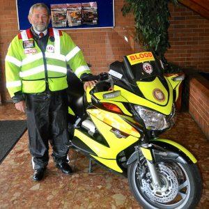The 'Durham Mark Mason' Northumbria Blood Bike