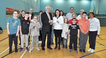 Visually impaired children receive boost from Mark Benevolent Fund