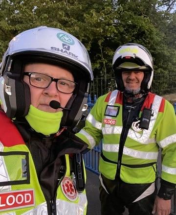 Blood Bike Volunteers