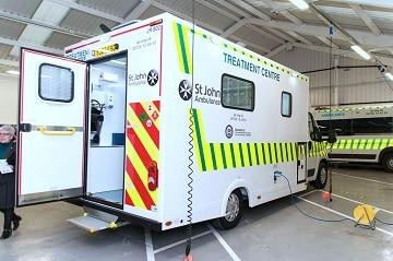 Support for St John Ambulance