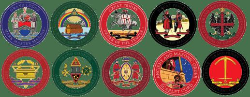 Progressive Orders emblems